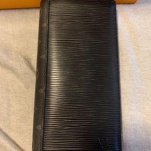Louis Vuitton Epi Eclipse Brazza Wallet